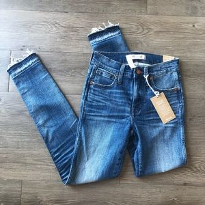Madewell | NWT High Rise Skinny Jeans in York Wash